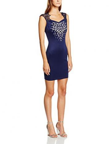 Lipsy Damen Cocktail Kleid, Gr. 36, Blau (Marineblau) - 1