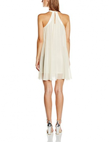 Lipsy Damen Cocktail Kleid, Gr. 38, Beige (Nude) - 2