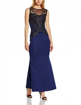 Lipsy Damen Cocktail Kleid, Gr. 38, Blau (Marineblau) - 1