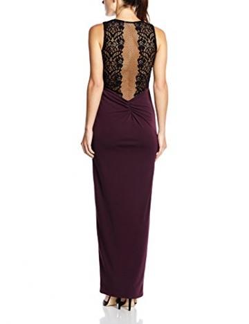 Lipsy Damen, Cocktail, Kleid, Lace Maxi, GR. 38 (Herstellergröße: Size 12), Violett (purple) - 2
