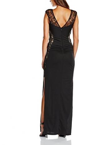Lipsy Damen, Cocktail, Kleid, Lace Maxi, Schwarz (Black), GR.40 EU (Herstellergröße:  12) - 2