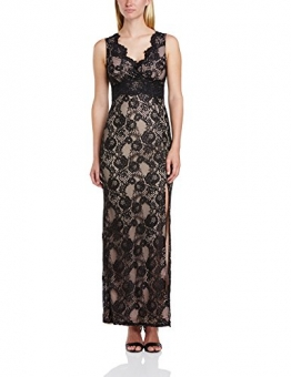 Lipsy Damen Cocktail Kleid Maxi Lace Dress, Maxi, Gr. 40 EU (Herstellergrosse : 12), Schwarz (Black/Neutral) - 1