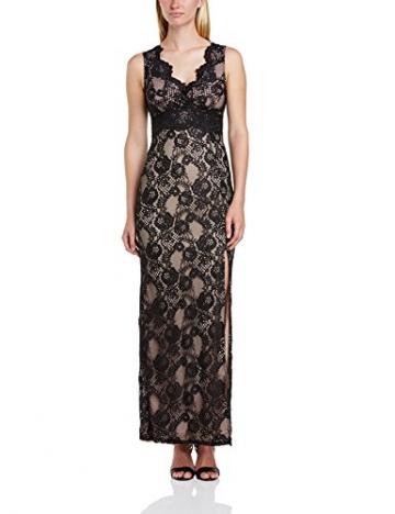 Lipsy Damen Cocktail Kleid Maxi Lace Dress, Maxi, Gr. 40 EU (Herstellergrosse : 12), Schwarz (Black/Neutral) - 1