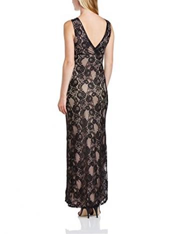 Lipsy Damen Cocktail Kleid Maxi Lace Dress, Maxi, Gr. 40 EU (Herstellergrosse : 12), Schwarz (Black/Neutral) - 2