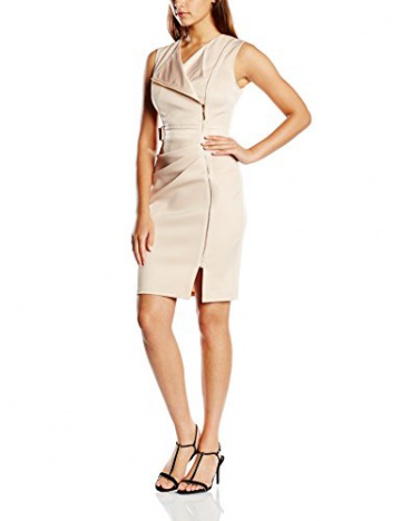 Lipsy Damen Schlauch Kleid, Gr. 36, Beige (Neutral) - 1