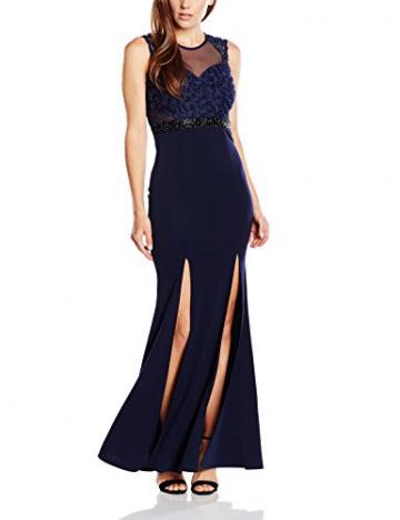 Lipsy Damen Schlauch Kleid, Gr. 36, Blau (Marineblau) - 1