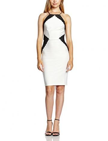 Lipsy Damen Schlauch Kleid, Gr. 36, Weiß - 1