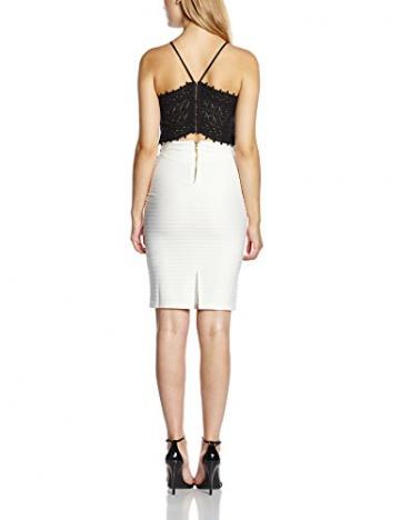 Lipsy Damen Schlauch Kleid, Gr. 36, Weiß - 2