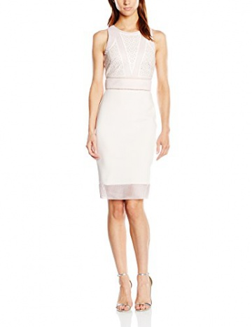 Lipsy Damen SchlauchKleid Gr. 36, Beige - Beige (Nude) - 1
