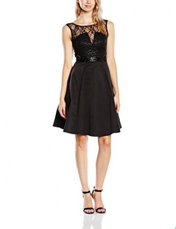 Lipsy Damen, Skater, Kleid, Prom Skater, GR. 38 (Herstellergröße: Size 12), Schwarz (Black) - 1
