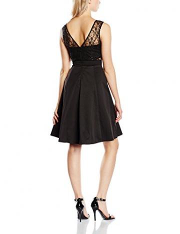 Lipsy Damen, Skater, Kleid, Prom Skater, GR. 38 (Herstellergröße: Size 12), Schwarz (Black) - 2