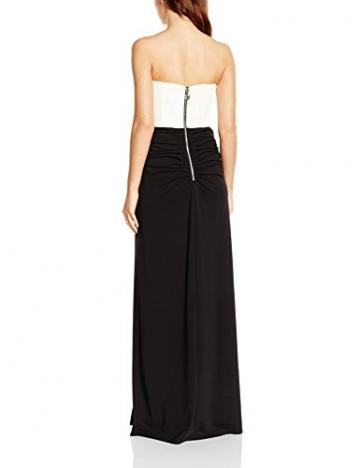 Lipsy VIP Damen Cocktail Kleid MONO BANDEAU MXI, Maxi, Gr. 36 (Herstellergröße: Size 10), Schwarz (Monochrome) - 2