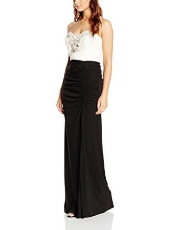 Lipsy VIP Damen Cocktail Kleid MONO BANDEAU MXI, Maxi, Gr. 38 (Herstellergröße: Size 12), Schwarz (Monochrome) - 1