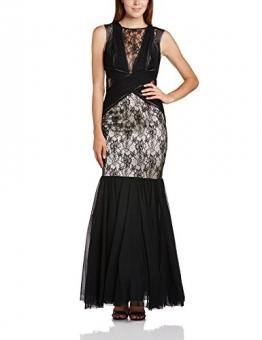 Lipsy VIP Damen Kleid Gr. 34, schwarz (Black/Nude) - 1