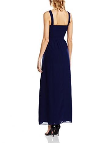 Little Mistress Damen, Abendkleid Embellished Detail Sleeveless, GR. 38 (Herstellergröße: Large), Blau (navy) - 2