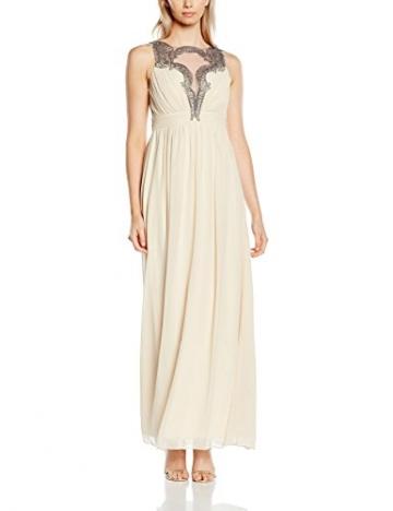 Little Mistress Damen Kleid,  Elfenbein - Off-White (Cream), Gr.38 (Herstellergröße:12) - 1