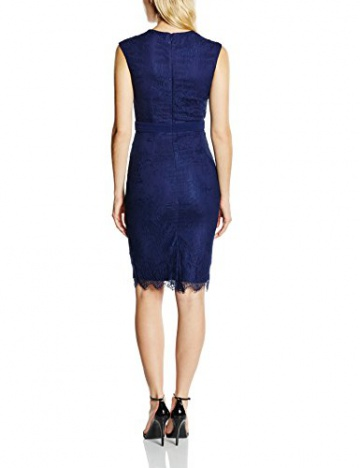 Little Mistress Damen Kleid Gr. 36, Blau - Blau (Marineblau) - 2