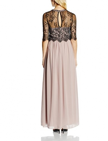 Little Mistress Damen Kleid Gr. 36, Mehrfarbig - Multicoloured Beige / Black (Mink) - 2