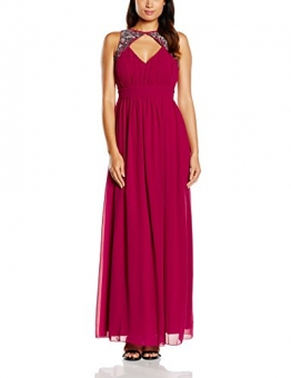 Little Mistress Damen Kleid Gr. 36, Rot - Red (Cherry) - 1