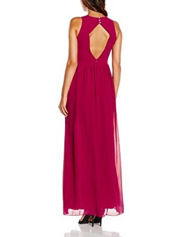 Little Mistress Damen Kleid Gr. 36, Rot - Red (Cherry) - 2