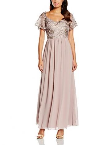 Little Mistress Damen Kleid Gr. 36, Violett - Purple (Mink) - 1