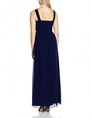 Little Mistress Damen Kleid Gr. 40, Blau - Blau (Marineblau) - 2