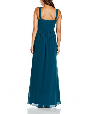 Little Mistress Damen Kleid Gr. 40, Blau - Blau (Teal) - 2