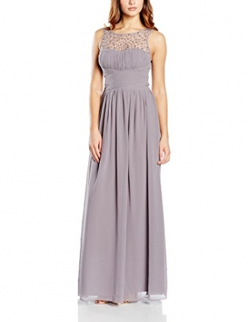 Little Mistress Damen Kleid Gr. Größe 34 EU, Grau - Grey (Dark Grey ) - 1