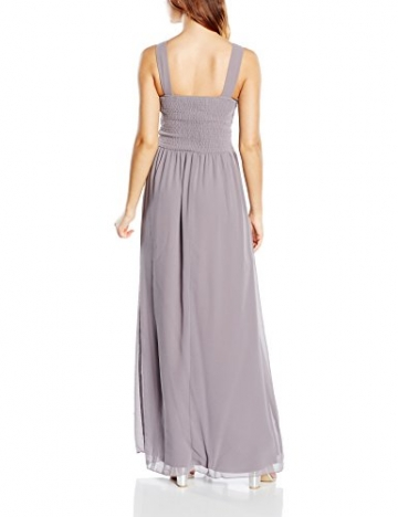 Little Mistress Damen Kleid Gr. Größe 34 EU, Grau - Grey (Dark Grey ) - 2