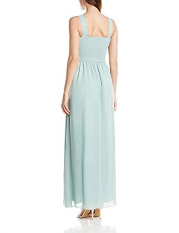 Little Mistress Damen Kleid Top Embellished, Maxi, Gr. 36 (Herstellergröße:Size 10), Grün (Sage) - 2