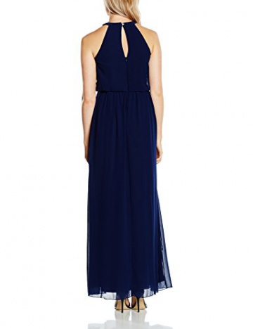Little Mistress Damen NeckholderKleid Gr. Größe 34 EU, Blau - Blau (Marineblau) - 2
