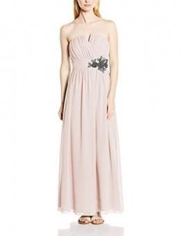 Little Mistress Damen Trägerloser, Kleid, Embellished Waist, GR. 34 (Herstellergröße: Size 8), Beige (Nude) - 1
