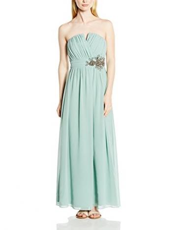 Little Mistress Damen Trägerloser, Kleid, Embellished Waist, GR. 36 (Herstellergröße: Size 10), Grün (Sage) - 1