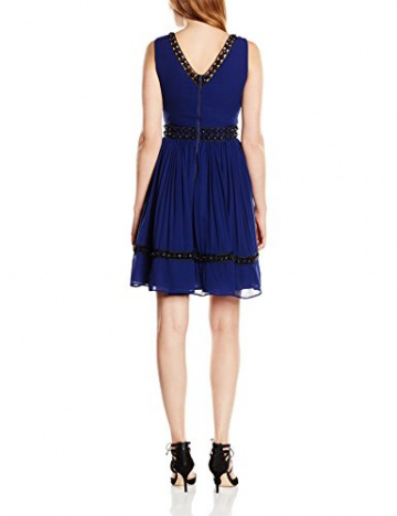 Manoush Damen CocktailKleid, Uni Gr. 34, Blau - Blau (Marineblau) - 2
