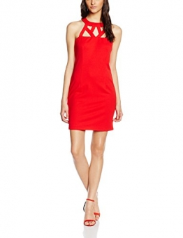 Mexx Damen Cocktail Kleid MX3021152, Mini, Gr. 38, Rot (Formula One 692) -