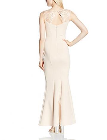 Michelle Keegan Damen Cocktail Kleid Michelle Keegan LACE TOP Maxi, Gr. 40 (Herstellergröße: Size 14), Beige (Nude) - 2