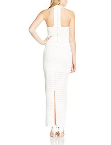 Michelle Keegan Damen Schlauch Kleid Thick Thin Stripe Maxi, Gr. 34 (Herstellergröße: Size 8), Weiß - 2