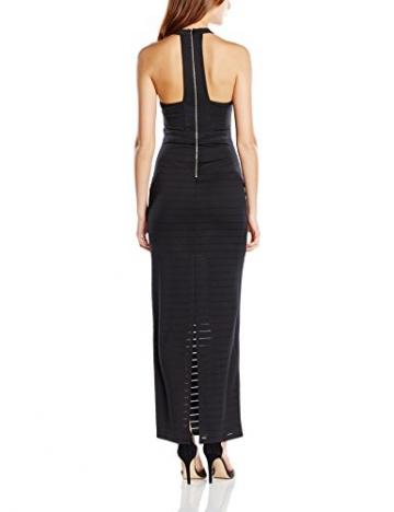 Michelle Keegan Damen Schlauch Kleid Thick Thin Stripe Maxi, Gr. 36 (Herstellergröße: Size 10), Schwarz - 2