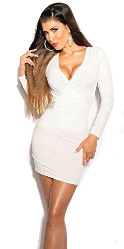 Minikleid weiß Einheitsgröße: 34-38 - 1