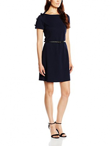 Molly Bracken Damen Kleid, Uni Gr. 38, Blau - Blau (Marineblau/Navy Blue) - 1