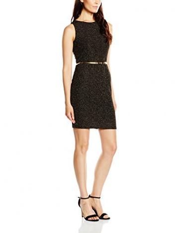 Molly Bracken Damen Kleid, Uni Gr. 38, Schwarz - Schwarz (Schwarz/Black) - 1