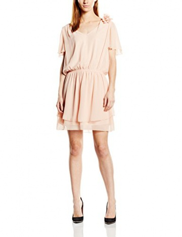 Molly Bracken Damen TulipeKleid, Uni Gr. One Size, Rosa - Rose (Nude) - 1
