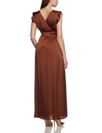 More & More Damen Cocktail Kleid Kleid 1-tlg. lang, Maxi, Einfarbig, Gr. 38, Braun (original) - 2