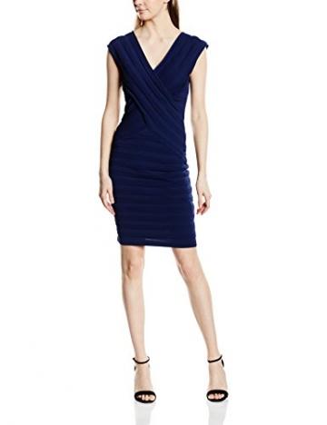 Morgan Damen Schlauch Kleid, Einfarbig Gr. M (Herstellergröße: M), Blau - Blau (Marineblau) -