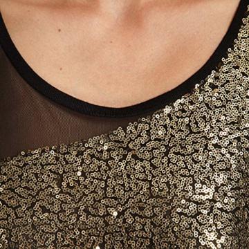 Morgan Damen, Schlauch, Kleid, ROMEA, GR. 34 (Herstellergröße: XS), Schwarz (noir/or) - 3
