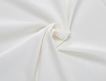 MUXXN Damen Bleistiftkleid V-Ausschnitt Etuikleid Ärmellos Knielang Retro Abendkleid Business Kleid(M, White) -