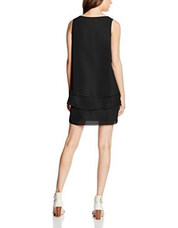 Naf Naf, Damen Dekolletiertes Kleid, Einfarbig, Schwarz (0625 Noir), Gr. 40 EU (Herstellergröße: L) -