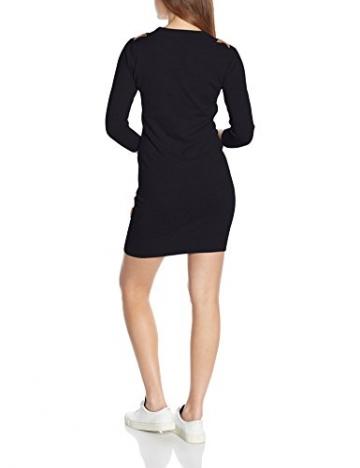 Naketano Damen Kleid Groteske V, Blau (Dark Blue Melange 087), 36 (Herstellergröße: S) -