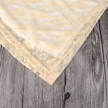 Often® Sexy Loeffel Kragen 3/4 aermel Spitze Kurzkleid mit Guertel einbeziehen 4 FARBEN 3 GRoeSSE -