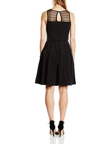 ONLY Damen A-Linie Kleid Onlzoom S/l Dress Jrs, Midi, Gr. 38 (Herstellergröße: M), Schwarz - 2